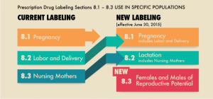 pregnancy and lactation labeling